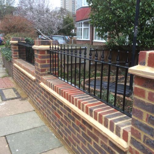 Garden Project   Wall & Railings